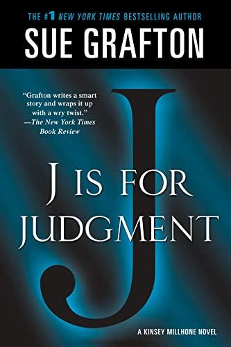 9781250035820: J is for Judgment: A Kinsey Millhone Novel (Kinsey Millhone Alphabet Mysteries)