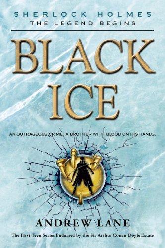 9781250036544: Black Ice (Sherlock Holmes: The Legend Begins)
