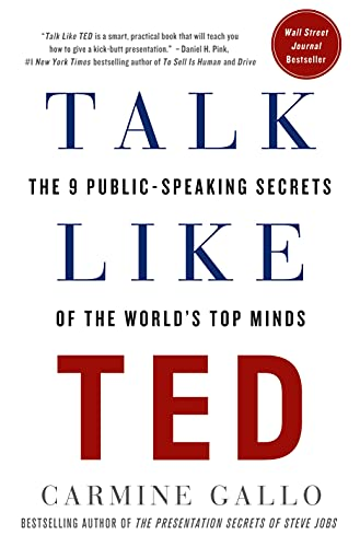 9781250041128: Talk Like Ted: The 9 Public-Speaking Secrets of the World's Top Minds