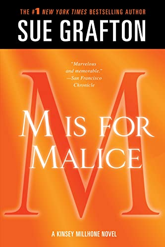 9781250041890: M Is for Malice (Kinsey Millhone Mystery)