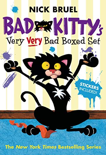 9781250050540: Bad Kitty's Very Very Bad Boxed Set (#2): Bad Kitty Meets the Baby, Bad Kitty for President, and Bad Kitty School Days