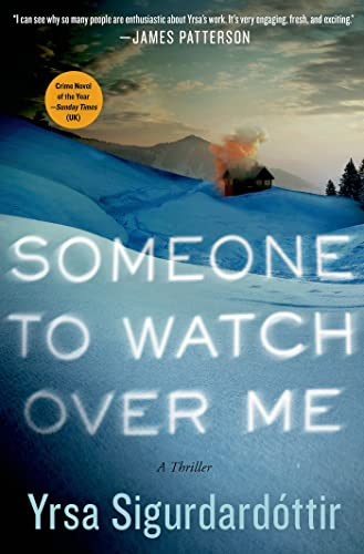 9781250051479: Someone to Watch Over Me: A Thriller (Thora Gudmundsdottir)