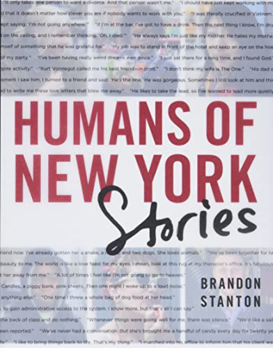 9781250058904: Humans Of New York. The Stories
