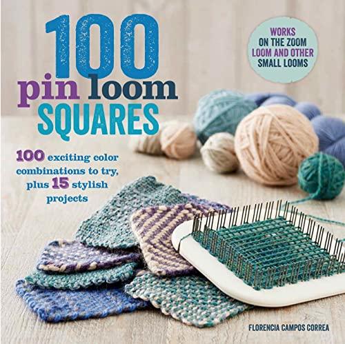 100 Pin Loom Squares: Correa, Florencia Campos