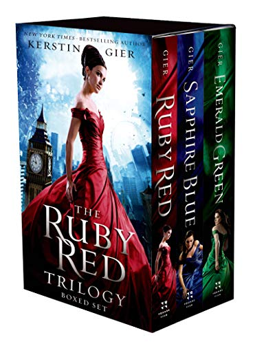 9781250060433: The Ruby Red Trilogy Boxed Set: Ruby Red, Sapphire Blue, Emerald Green