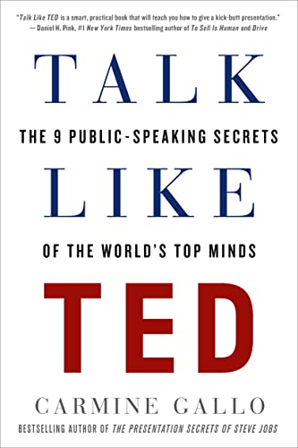 9781250061539: Talk Like TED: The 9 Public-Speaking Secrets of the World's Top Minds