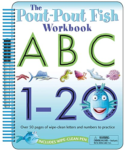 9781250061959: The Pout-Pout Fish: Wipe Clean Workbook ABC, 1-20: Over 50 Pages of Wipe-Clean Letters and Numbers to Practice (A Pout-Pout Fish Novelty)