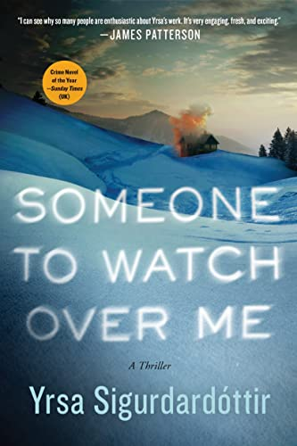 9781250080974: Someone To Watch Over Me (Thora Gudmundsdottir)