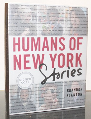 9781250085252: Humans of New York: Stories [Signed Edition]
