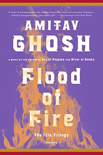 9781250094711: Flood Of Fire (The Ibis Trilogy)