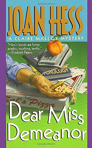 9781250100245: Dear Miss Demeanor