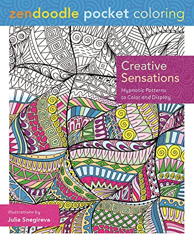 9781250105127: Zendoodle Pocket Coloring: Creative Sensations: Hypnotic Patterns to Color and Display