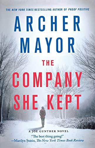 9781250105776: The Company She Kept: A Joe Gunther Novel (Joe Gunther Series)