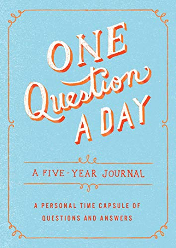 9781250108869: One Question a Day: A Five-Year Journal: A Personal Time Capsule of Questions and Answers