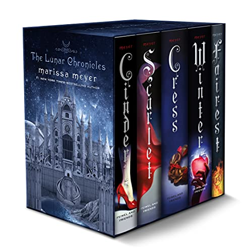 The Lunar Chronicles Boxed Set (Hardcover): Marissa Meyer