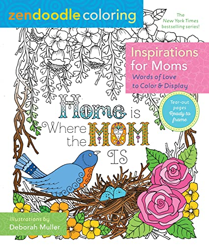 Zendoodle Coloring: Inspirations for Moms