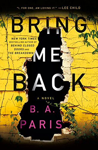 Book Cover: Bring Me Back: A Novel