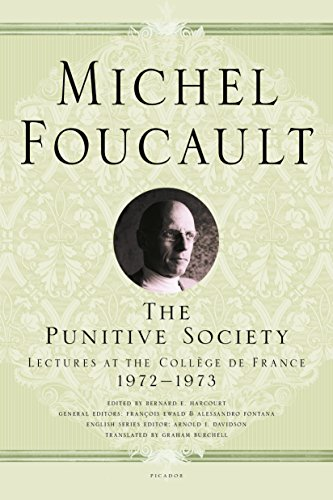 9781250183934: The Punitive Society: Lectures at the Collège de France, 1972-1973