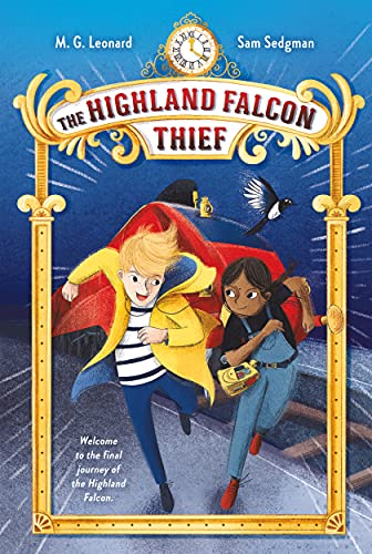 9781250222893: The Highland Falcon Thief: Adventures on Trains #1