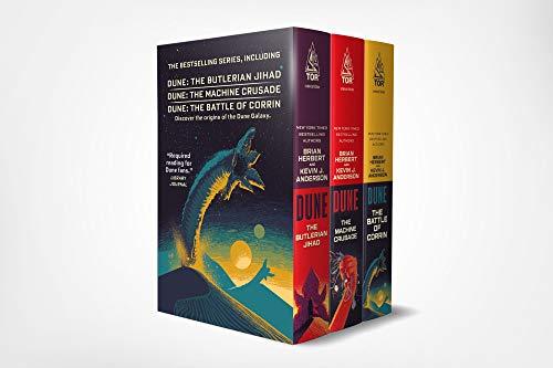9781250263353: Dune Boxed Set #1 (2019): The Butlerian Jihad, the Machine Crusade, the Battle of Corrin