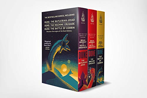 9781250263353: Legends of Dune Mass Market Paperback Boxed Set: The Butlerian Jihad, The Machine Crusade, The Battle of Corrin