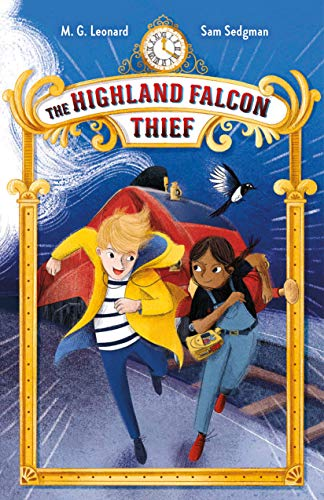 9781250791436: The Highland Falcon Thief: Adventures on Trains #1