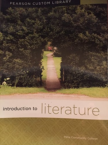 9781256003410: Introduction to Literature: Pearson Custom Library: Pima Community College Edition