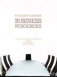 9781256009801: Pearson Custom Business Resources