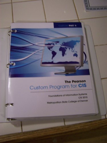 9781256018018: The Pearson Custom Program for Cis Metro State College of Denver
