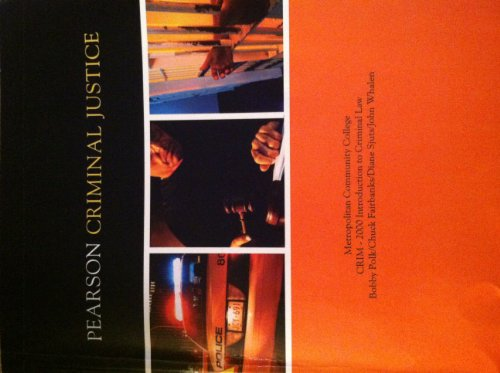 9781256024736: Pearson Criminal Justice Introduction to Criminal Law Crim 2000 (CRIM 2150)