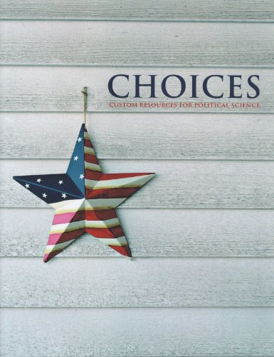 9781256031611: CHOICES - Custom Resources For Political Science
