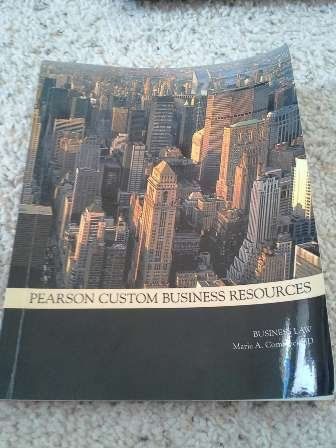 9781256033660: Pearson Custom Business Resources (Business Law)