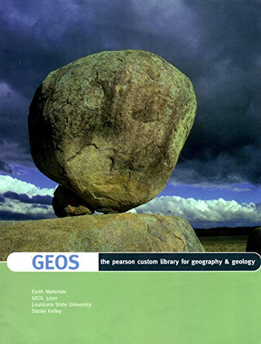 9781256033677: GEOS the pearson custom library for geography & geology