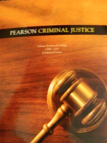 9781256039440: Pearson Criminal Justice (Athens Technical College CRJU 2201 Criminal Courts)