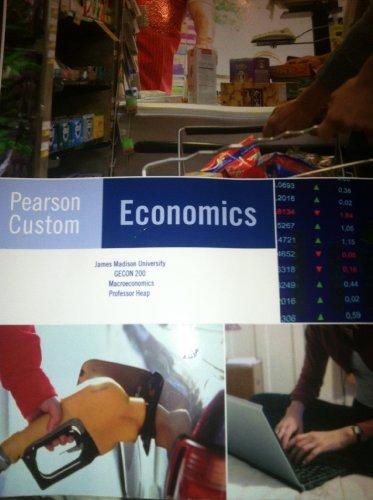 Pearson Custom Economics: James M. Olver,