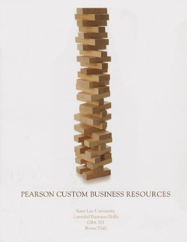 9781256045663: Pearson Custom Business Resources: Saint Leo University Essential Business Skills