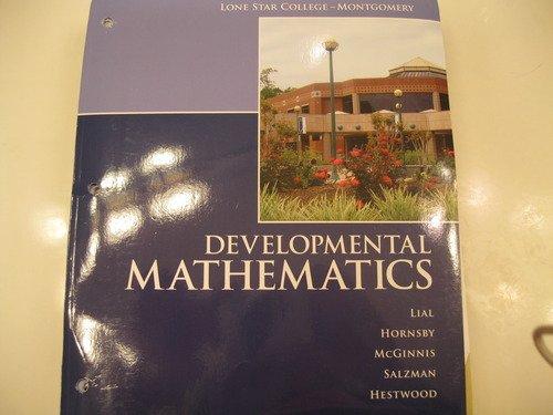 9781256054894: Developmental Mathematics (MyMathLab Access Card & CD)(Lone Star College)