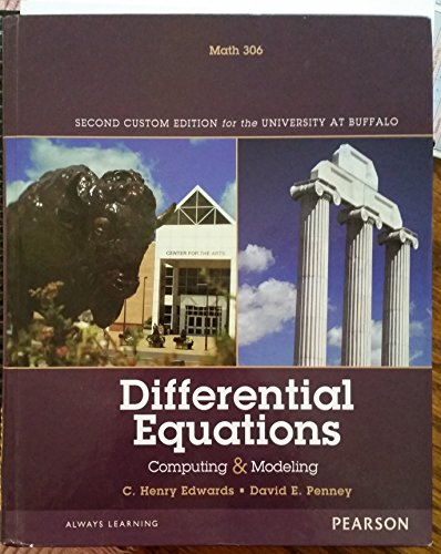 9781256066545: Differential Equations(Custom UB) 2nd