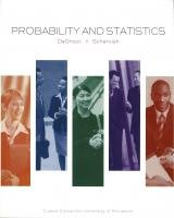 9781256076148: Probability and Statistics: Custom Edition for the University of Minnesota