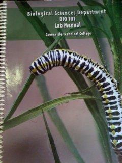 9781256077930: BIO 101 Biological Sciences Department Lab Manual (Custom for Greenville College)