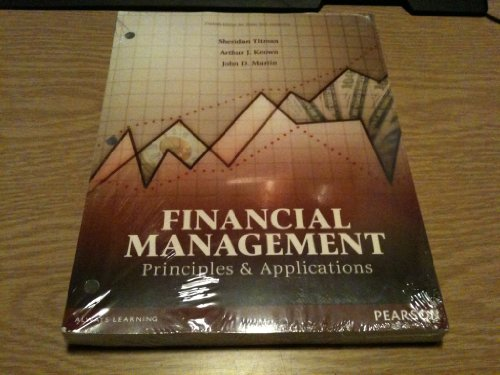 9781256077947: Financial Management Principles & Applications (Custom Edition for Texas Tech University)