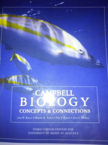 9781256081739: Campbell Biology; Concepts and Connections - Third UMA Edition