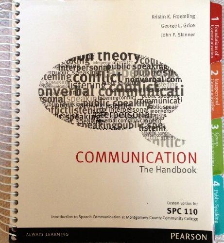 9781256081821: Title: COMMUNICATION:HANDBOOK >CUSTOM