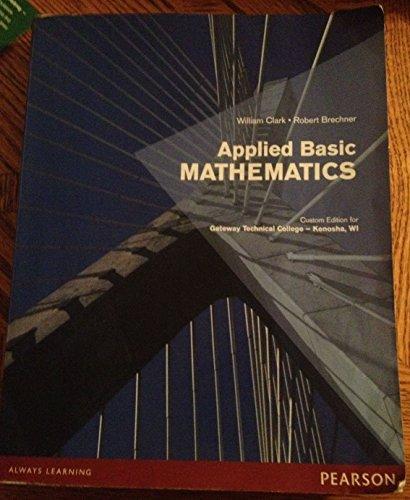 9781256082897: Applied Basic Mathmatics