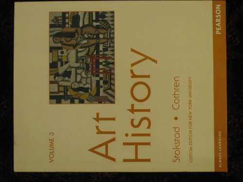 9781256083108: Art History, Vol. 3 (Custom Edition for New York University)