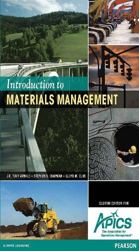 9781256083146: Introduction to Materials Management (Custom Edition for APICS)