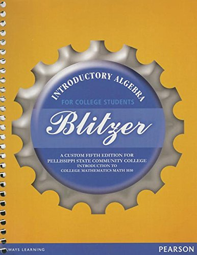 9781256086949: Introductory Algebra for College Students: A Custom Fifth Edition for Pellissippi State Community College, Introduction to College Mathematics MATH 10