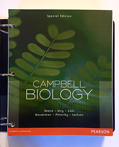 9781256090922: Campbell Biology Special Edition