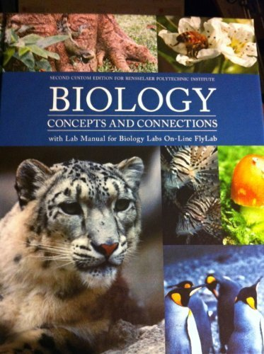 9781256107910: Biology Concepts and Connections (2nd custom edition for Rensselaer Polytechnic Institute)