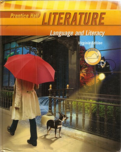 Prentice Hall Literature, Language an Literacy, Grade 6 (Six), Custom Edition for Virginia: al, ...